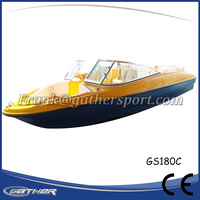 Gather China wholesale Hot selling Chinese 2 person speed boat