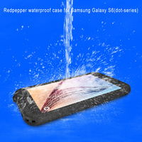 Underwater Waterproof Snowproof Shockproof Dirtproof Durable Full Sealed Protective Case Cover for Samsung Galaxy S6