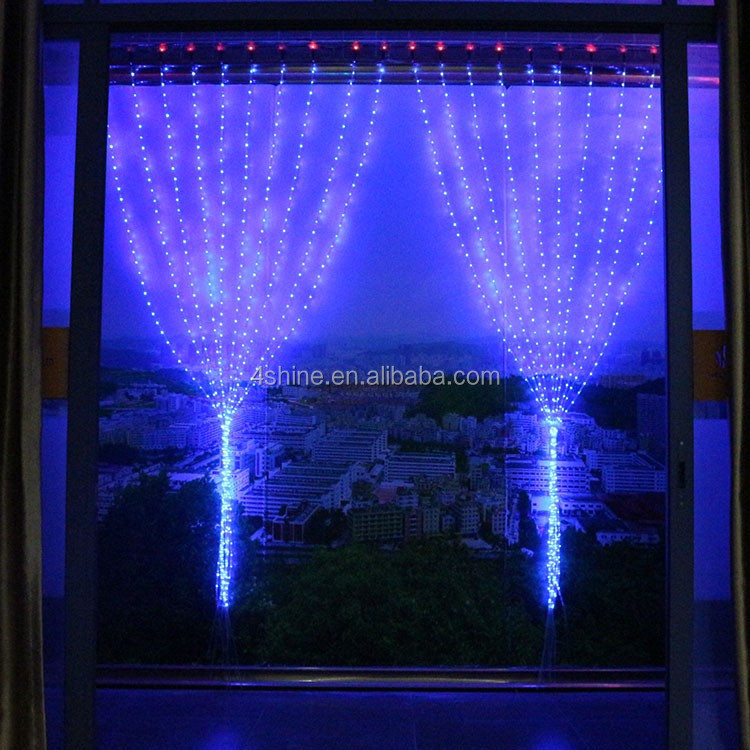 2016 promotional china wholesale christmas lights,3m led curtain light