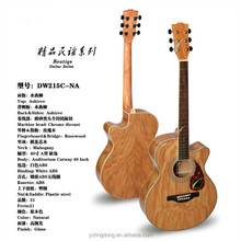 40'' boutiqe ashtree glass acoustic cheap guitar