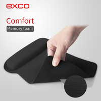 Hot new EXCO custom promotional Neoprene cover 3D ergonomics rubber wrist rest mouse pad original