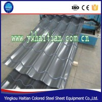 Factory price corrugated roof tile, waterproof prepainted galvanized PPGI metal roofing tile