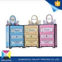Wholesale 12 years Professional OEM customized gift cardboard packaging cosmetic printing folding paper box