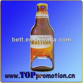 New design promotion cheap wedding favor bottle opener