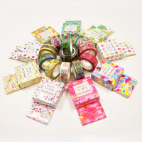 Wholesale colored Christmas decoration custom Printed Washi Masking Tape