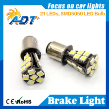 Lot 6 PCS White 21LED Car Auto Tail Rear Turn Brake Light Bulbs Lamp BA15S 1157