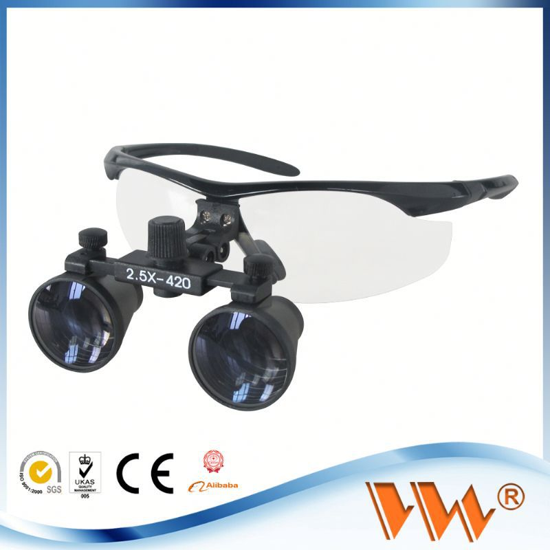 Welcome OEM service dental microscope glasses for surgical used