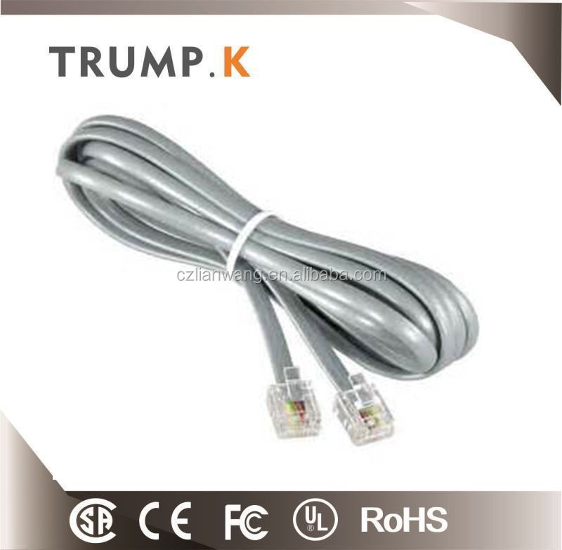 2 pair 0.5mm telephone cable prices wholesale from changzhou