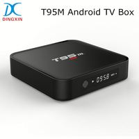Amlogic S905 Quad Core 2GB RAM 8GB ROM KODI 16.0 2.4G WIFI Bluetooth T95M Cable TV Set Top Box