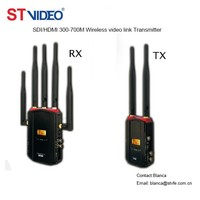 Audio Video HD/SDI Signal Transmitter and Receiver,1080p Multi-channel Wireless Transmitter with BNC Connector