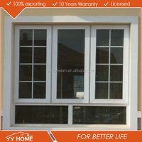 YY Home steel/aluminium safety window grill design very strong