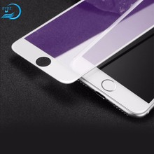 3D Anti Blue Light Carbon Fibre Soft Edge Mobile Tempered Glass Screen Protector Film