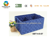 Promotion High Quality Nylon Woven Storage Basket With Handles