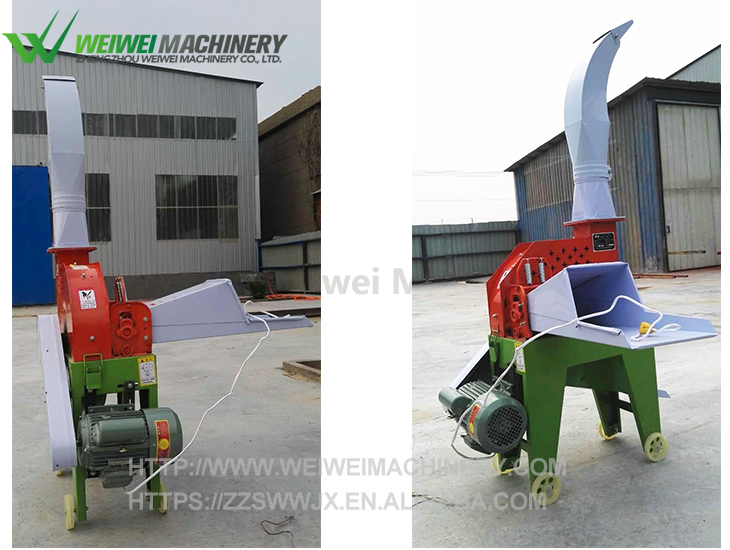 Chaff Crusher cow feed cutter