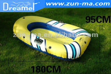 2014 Summer Hot Sale Cheap Inflatable Plastic Rowing Boats