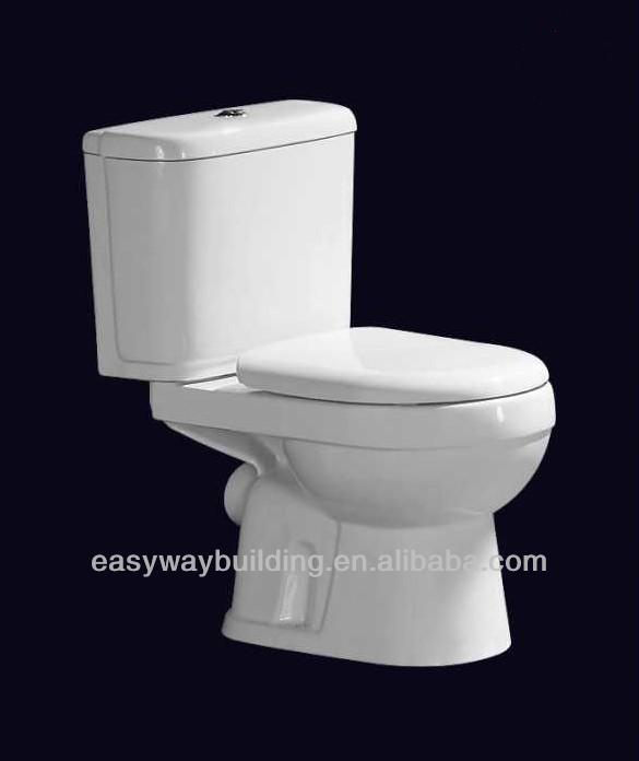 cheap 2-piece indoor chemical toilet