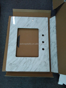 Cultured Marble Vanity Top with Backsplash, New Cultured Marble Colors