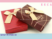 Custom fancy hard luxury paper packaging sweet box for chocolate