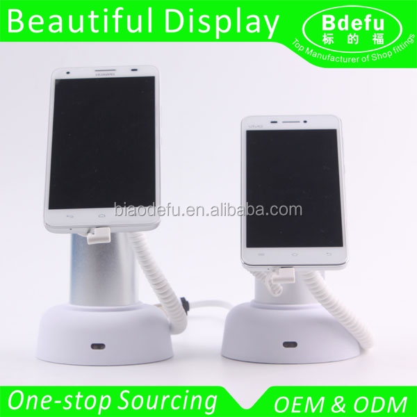 Multi-function Anti-theft Alarm System Mobile Phone Security Display Stand