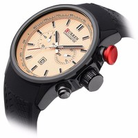 8175 NEW CURREN Luxury Analog Fashion