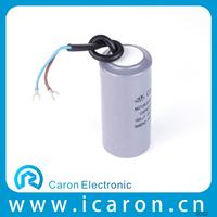 factory directly sale well pump capacitor with 2 wires