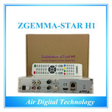 Twin Tuner DVB-S2 DVB-C Zgemma Star H1 Best TURBO DECODER IPTV SET TOP BOX