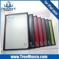 Luxury leather case for ipad 5, for ipad mini leather case, for ipad air leather case