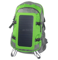 China manufacture travel mobile 6.5W/6V solar panel charger solar bag for outdoor