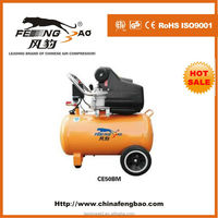 silent air compressor,3hp 50L bahama style portable traditional direct driven air compressor price