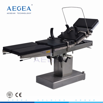 AG-OT015 patient hospital emergency hydraulic pump clinic mobile operating table