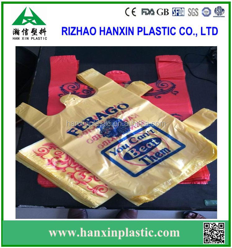 Clear plastic t shirt thank you bags carrier bag for Cheap t shirt bags wholesale
