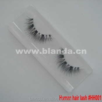 Branded Human Hair Lashes, Real Human Hair Eye Lashes, Premium Human Hair False Eyelashes Custom Package