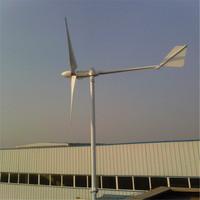 Alternative Energy 3200W Wind Power Axis Turbine Generator and Solar Panel