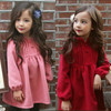 Elegant Kids Clothing Wholesale Loose Princess Cotton Dress Of Children's Clothing