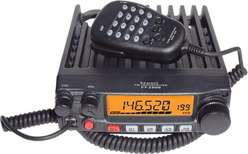Long distance range mobile car radio YAESU FT 2900R VHF Mobile 75 W Two Way Radio