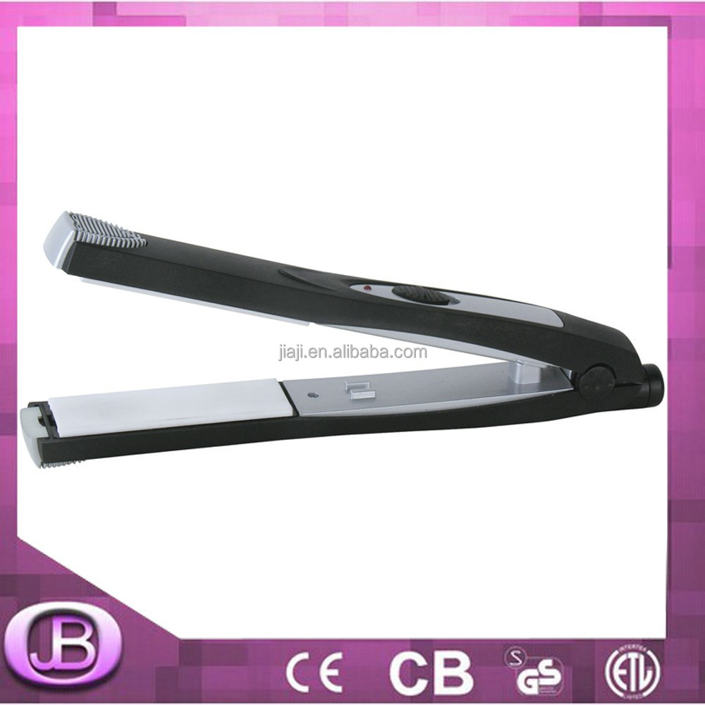 low price electronic battery operated hair straightener
