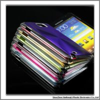 Pc+metal material mobile phone covers for Samsung galaxy note