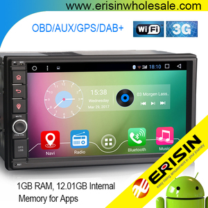 "Erisin ES5390U 7"" 2din NEW Android 6.0 4 core universal car dvd auto radio with GPS DAB+ DVR 3G WIFI"