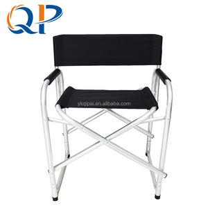 Aluminium Folding Chair Black Ribbon Folding Aluminium Beach Chair Director Chair