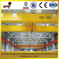drawing customized factory supply bridge crane 160 ton used indoor