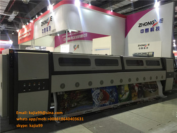 5m digital wide format pvc fabric flex banner printing machine/5m solvent printer