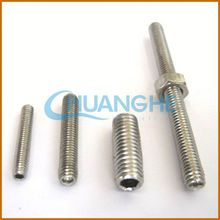 Hardware fasteners threaded rods /double threaded studs