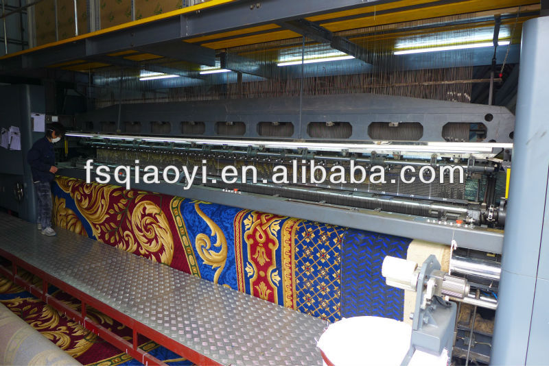 5.7 meters--The Most Widest Axminster Gripper Electronic Jacquard Carpets Weaving Loom in the World