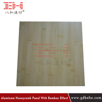 New design aluminum honeycomb composite panel lightweight fireproof material