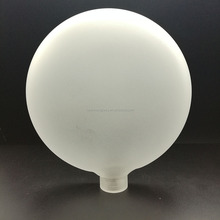 Antique White Milk Glass Cone Shaped Hurricane/Pendant Lamp Shade
