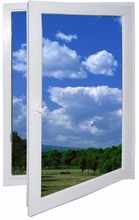 frame customized Aluminum door and window with ISO 9001 and CE