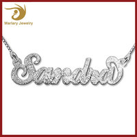 Stainless Steel Name Necklace Chain,Jewelries Accessaries Necklace With Name,Custom Personalized Necklace