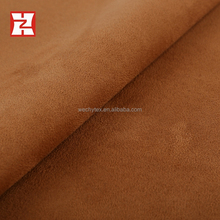 comfortable polyester micro suede fabric single jersey bonding scuba fabric for indian dress, textile fabric