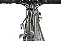 Super light high performance titanium road bicycle