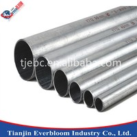 Double submerged arc welded pipe/steel exhaust tubing/galvanized welded steel pipe